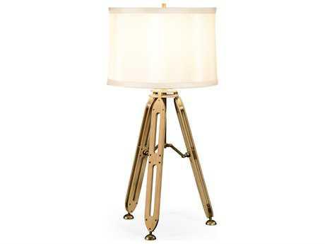 Jonathan Charles Architects House Light Washed Oak Table Lamp