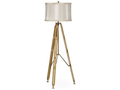 Jonathan Charles Architects House Light Washed Oak Floor Lamp