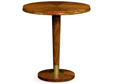 Jonathan Charles Cosmo Light Daniella 36 Round Bar Dining Table