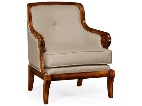 Jonathan Charles Knightsbridge Medium Walnut Accent Chair