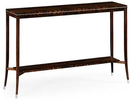 Jonathan Charles Soho Makassar Ebony 48 x 12.75 Rectangular Console Table