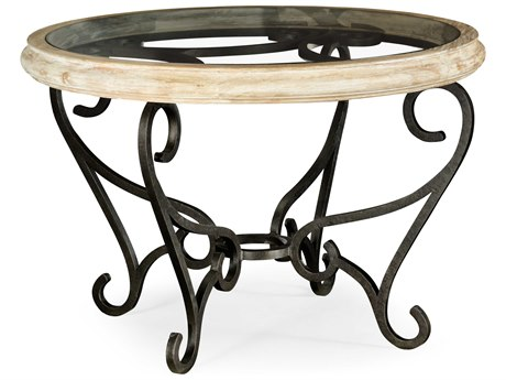 Jonathan Charles Artisan collection Limed Acacia Foyer Table