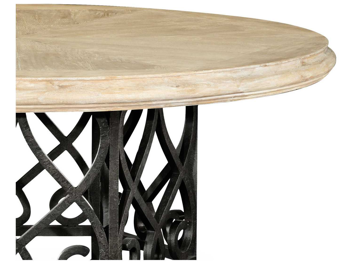 Jonathan charles artisan collection limed acacia casual for Informal dining table