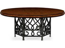 Jonathan Charles Artisan collection Rustic Walnut Finish Casual Dining Table