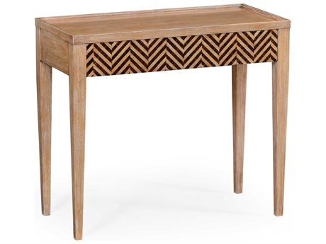 Jonathan Charles Alexander Julian Limed Walnut 36.5 x 17 Rectangular Console Table