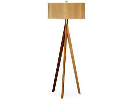 Jonathan Charles Alexander Julian collection Satinwood Light Floor Lamp