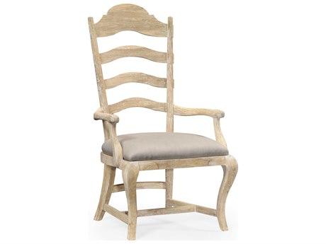 Jonathan Charles Artisan collection Limed Acacia Dining Arm Chair