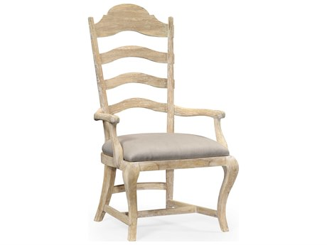 Jonathan Charles Artisan collection Limed Acacia Dining Arm Chair