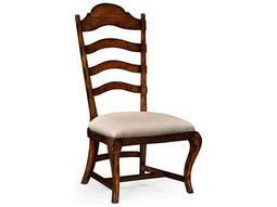 Jonathan Charles Artisan collection Rustic Walnut Finish Dining Side Chair