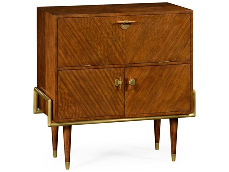 Jonathan Charles Cosmo collection Daniella Light Finish Cabinet Bar