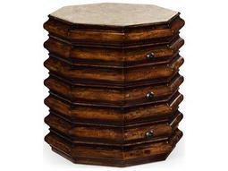 Jonathan Charles Artisan collection Rustic Walnut Finish End Table