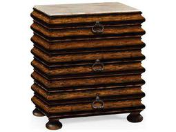 Jonathan Charles Artisan collection Rustic Walnut Finish Chest of Drawers
