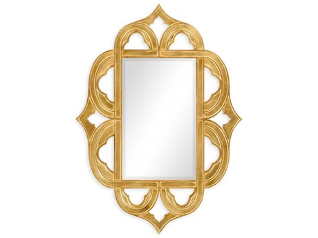 Jonathan Charles Moroccan collection Light Antique Gold-Leaf With Carved Floral Detail Wall Art