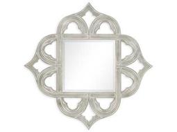 Jonathan Charles Moroccan collection Antique Silver-Leaf Light On Wood Wall Art