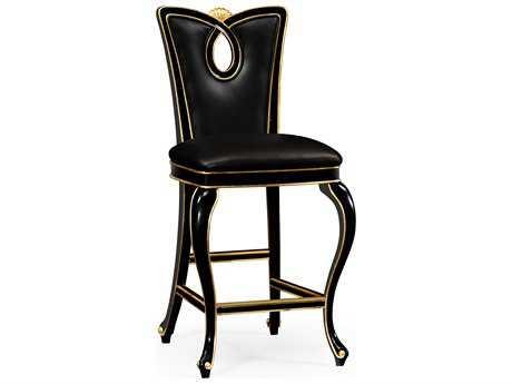Jonathan Charles Knightsbridge collection Painted Formal Black Bar Stool