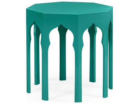 Jonathan Charles Moroccan collection Aruba Blue End Table