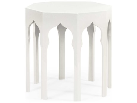 Jonathan Charles Moroccan collection Snow White End Table