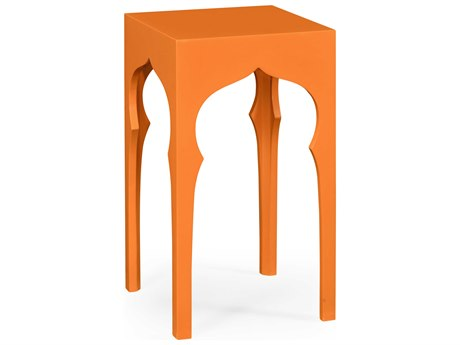 Jonathan Charles Moroccan collection Pumpkin Cream End Table