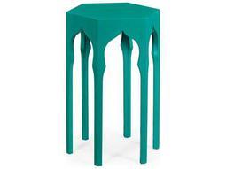 Jonathan Charles Moroccan collection Aruba Blue End Table