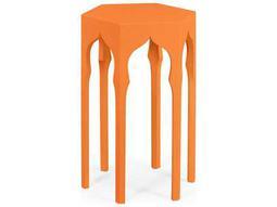 Jonathan Charles Moroccan collection Pumpkin Cream End Table