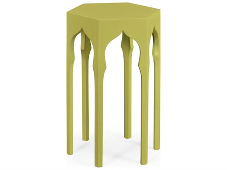 Jonathan Charles Moroccan collection Split Pea End Table
