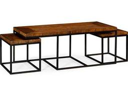 Jonathan Charles Artisan collection Rustic Walnut Finish Coffee Table