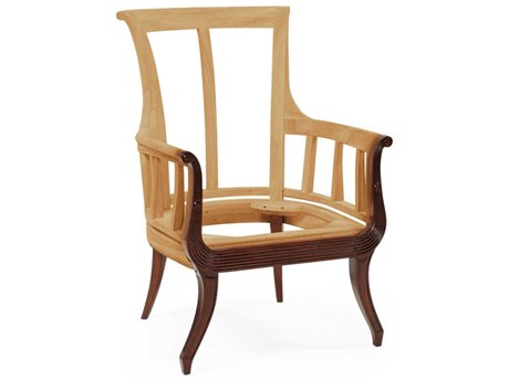 Jonathan Charles Buckingham collection Antique Mahogany Medium Accent Arm Chair