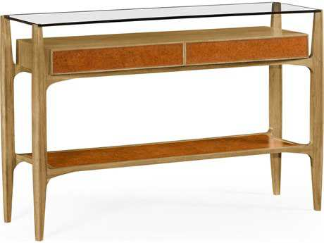 Jonathan Charles Architects House collection Light Washed Oak On Wood Console Table