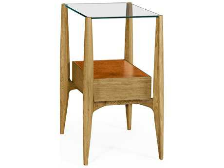 Jonathan Charles Architects House collection Light Washed Oak On Wood End Table