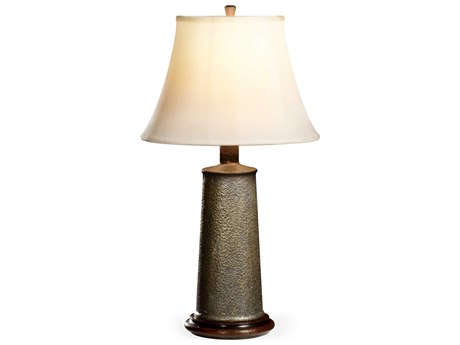 Jonathan Charles Anvil collection Brass Bronze Light Finish Table Lamp