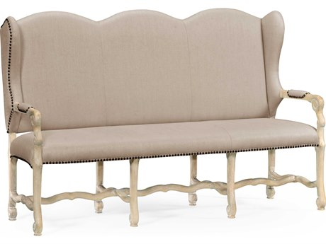 Jonathan Charles Artisan collection Limed Acacia Bench