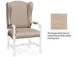 Jonathan Charles Artisan collection Limed Acacia Accent Arm Chair