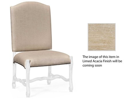 Jonathan Charles Artisan collection Limed Acacia Accent Side Chair
