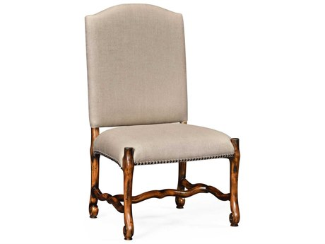 Jonathan Charles Artisan collection Rustic Walnut Finish Accent Side Chair