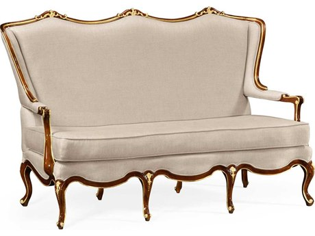 Jonathan Charles Monte Carlo collection Antique Mahogany Brown - High Lustre On Wood Bench