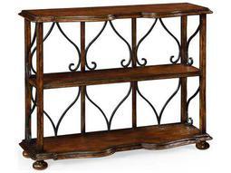 Jonathan Charles Artisan collection Rustic Walnut Finish Bookcase