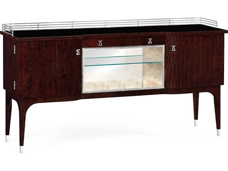 Jonathan Charles Belgravia collection Black Eucalyptus Color (On Veneer) Cabinet Bar