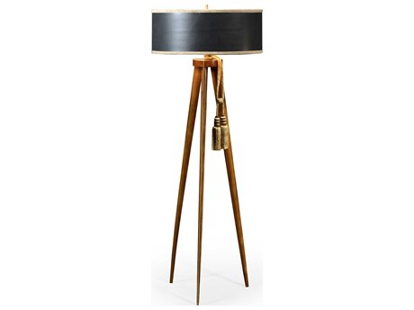Jonathan Charles Cosmo collection Daniella Light Finish Floor Lamp