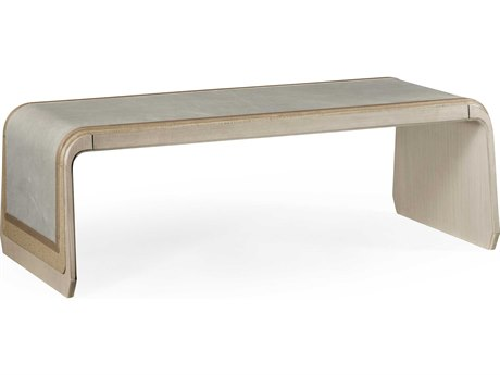 Jonathan Charles Ambiente collection Beige Fallingwater Coffee Table