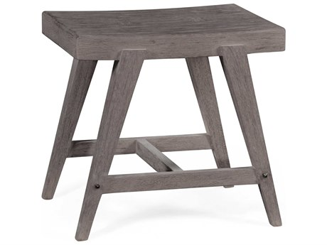 Jonathan Charles Langkawi collection Langkawi Grey Weather Finish Stool