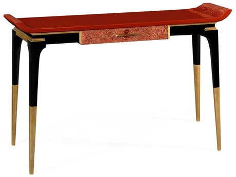 Jonathan Charles Indochine Emperor Red Console Table