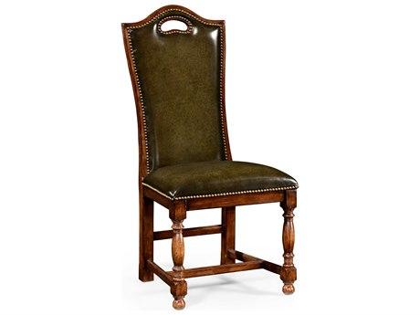 Jonathan Charles Country Farmhouse Medium Walnut Dining Chair