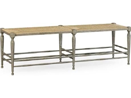 Jonathan Charles William Yeoward Greyed Oak Accent Bench