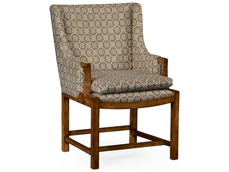 Jonathan Charles William Yeoward Grey Fruitwood Accent Chair