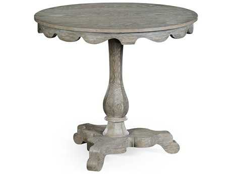 Jonathan Charles William Yeoward Greyed Oak 31.5 Round Foyer Table