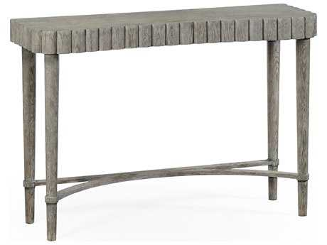 Jonathan Charles William Yeoward Greyed Oak 48.5 x 16.5 Rectangular Console Table