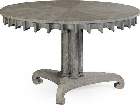 Jonathan Charles William Yeoward Greyed Oak 47.5 Round Foyer Table