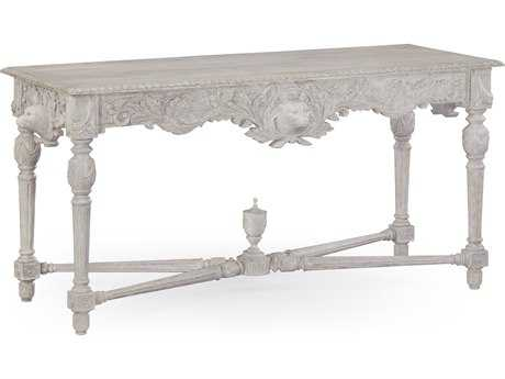 Jonathan Charles William Yeoward Country White 63.5 x 25.75 Rectangular Console Table