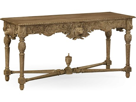 Jonathan Charles William Yeoward Washed Oak 63.5 x 25.75 Rectangular Console Table