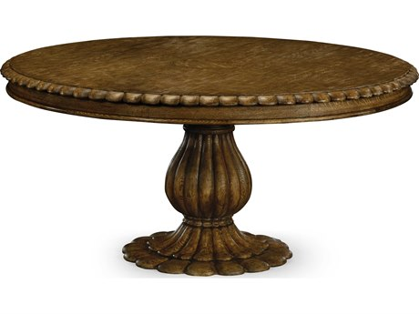 Jonathan Charles William Yeoward Kitchen Oak 65.75 Round Pedestal Table